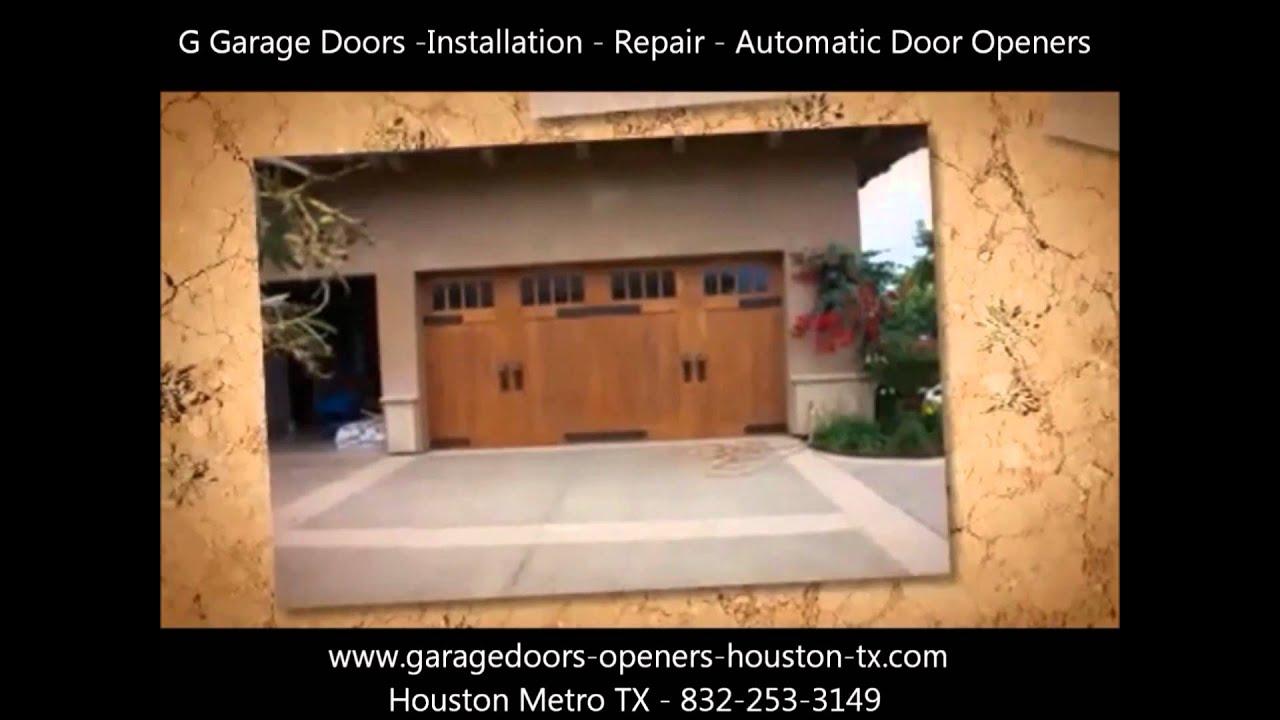 Garage doors openers repairs houston tx verified for Garage door repair houston tx