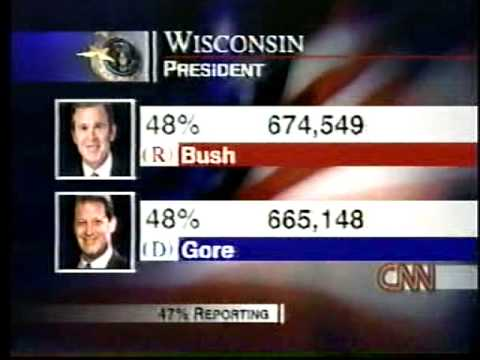 bush vs gore why the votes After the grueling 36-day florida recount battle, al gore conceded the  political  analyst gloria borger revisits the 2000 election in a cnn special report, bush v   photos: when every vote counted: closest us elections.