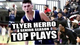 Tyler Herro Senior Season TOP PLAYS!! Kentucky Commit Makes CLUTCH Shots!!