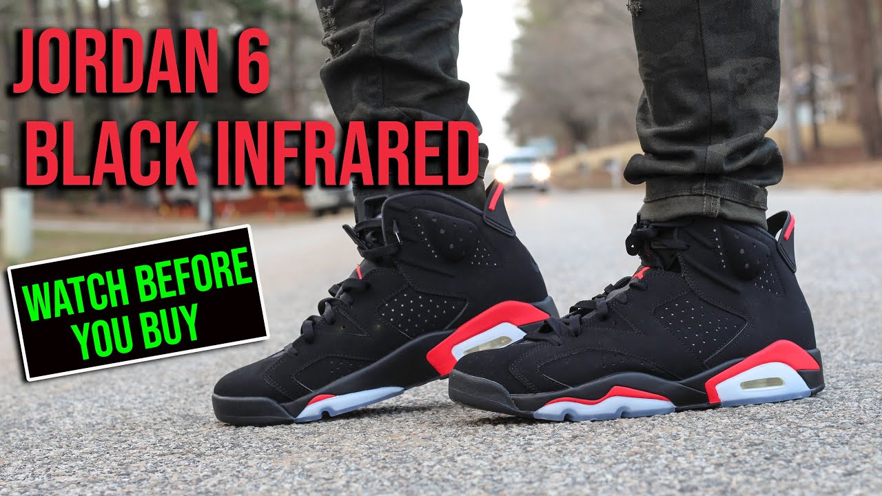 cheap for discount 75171 8c676 Air Jordan Black Infrared 6 2019 Review And On Foot