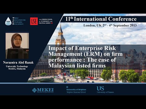 Impact Of Enterprise Risk Management (ERM) On Firm Performance : The Case Of Malaysian Listed Firms