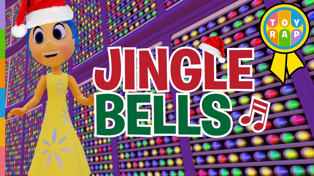 Inside Out Joy JINGLE BELLS Let's Play to CHRISTMAS SONGS for Kids ...