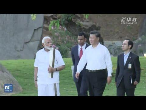 Xi Jinping, Narendra Modi visit cultural monuments in Mamallapuram, India