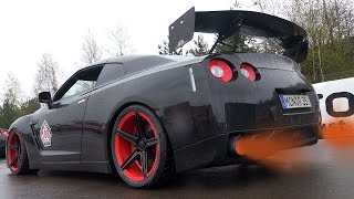 Ultimate Nissan GTR / Skyline sound compilation - Best of loud Laun...