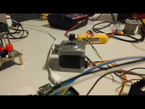 Control L298 Controller with Raspberry Pi and Drive Motor