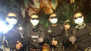 Höhlenrettung in Thailand: Jubel und Erleichterung