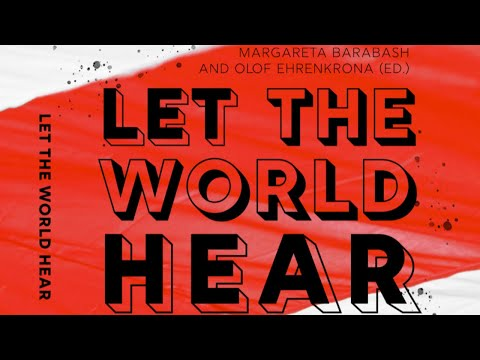 Book launch ft. Sviatlana Tsikhanouskaya: Let the World Hear