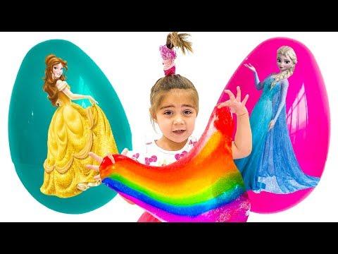Nastya Artem And Mia Turned Into Princesses