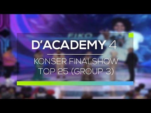 Highlight D'Academy 4 - Konser Final Show Top 25 (Group 3)