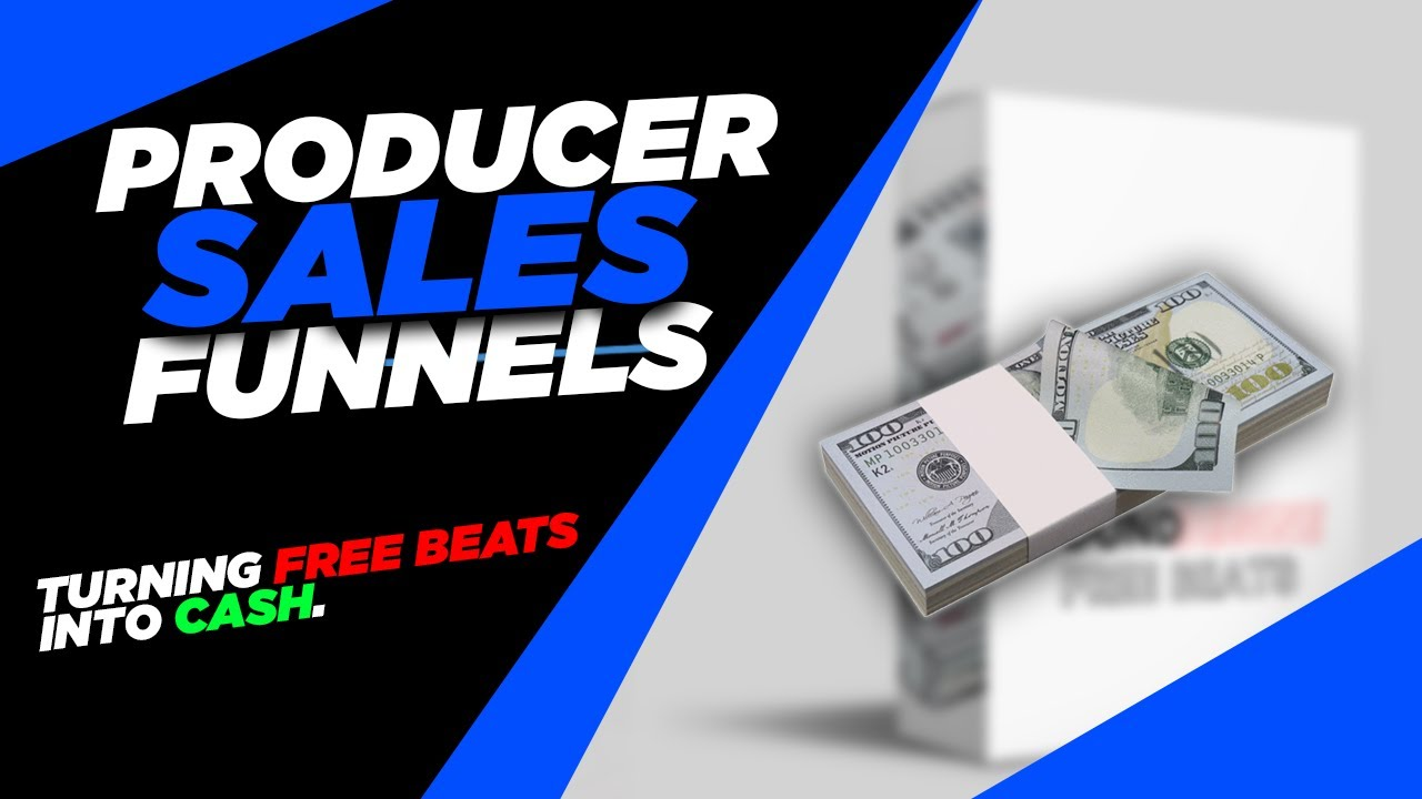 Producer Sales Funnels: Turning Free Beats into Cash (selling beats 2021)