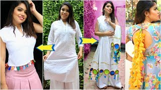3 Shocking Fashion DIY for TEENAGERS Using OLD Clothes .. | #Reuse #Styling #Anaysa #DIYQueen