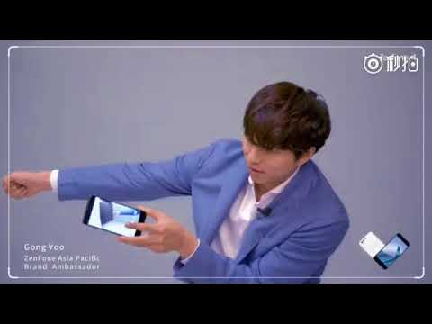 (Eng) Gong Yoo's Interview about ASUS ZenFone 4