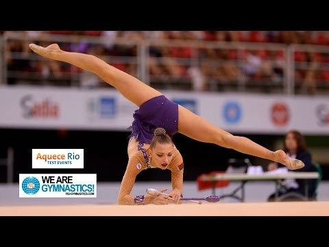 HIGHLIGHTS - 2016 Olympic Test Event, Rio (BRA) - Rhythmic G