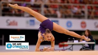HIGHLIGHTS - 2016 Olympic Test Event, Rio (BRA) - Rhythmic Gymnastics Individual Final thumbnail