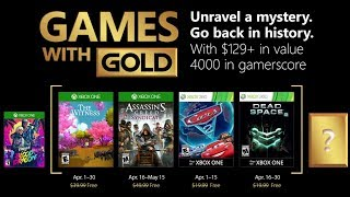 XBOX Games with Gold (April 2018)
