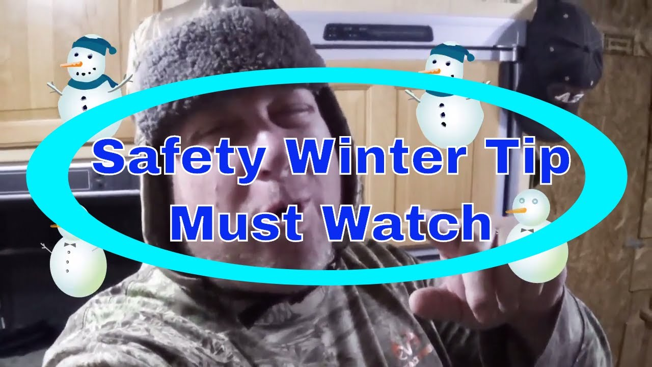 Important Winter Safety Tip To Stay 🔥 Warm On A ⛄ Cold Winter Night