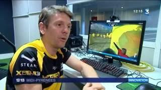 XField Paintball  sur le JT de France3 du 06/09/2016