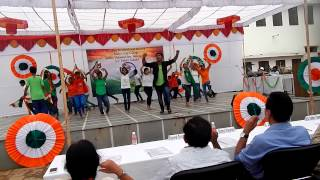 INDIA WAALE DANCE||PATRIOTIC THEME || JAI HARIYANI Choreograph & Perform ||contact :-9680666606