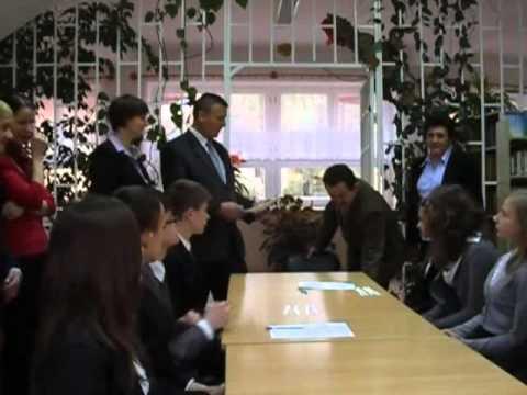 Młodzieżowa Rada Gminy w Trzcianie - wręczenie zaświadczeń o wyborze - 8.04.2011