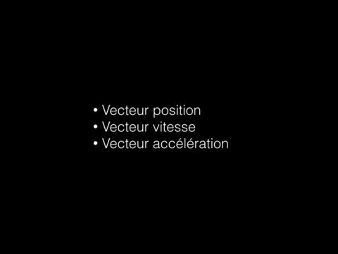Cours Mouvements, Vecteurs - Physique Te S