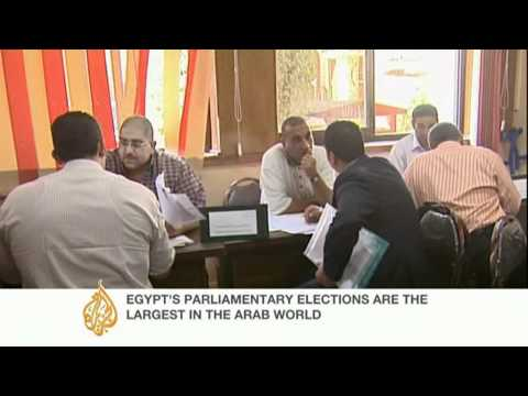 Registration begins for Egyptian parliamentary election