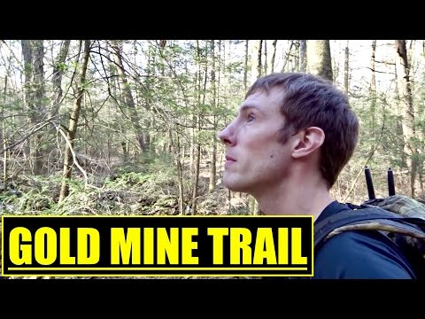 HIKING THE GOLDMINE TRAIL PA, TO RAUSCH GAP SHELTER ON THE APPALACHIAN TRAIL PENNSYLVANIA