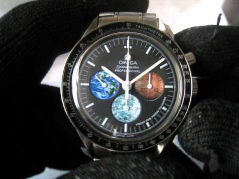 Omega speedmaster from moon to mars nasa watch function testing youtube for Astronaut watches