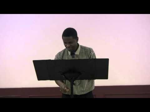 Pastor Herbert Sinamano: Why and How am I  A Legal Authority