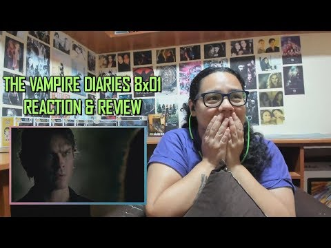 """The Vampire Diaries 8x01 REACTION & REVIEW """"Hello Brother"""" S08E01 