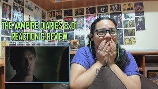 "The Vampire Diaries 8x01 REACTION & REVIEW ""Hello Brother"" S08E01 