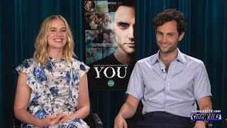 Interview: Elizabeth Lail and Penn Badgley (Lifetime's You)