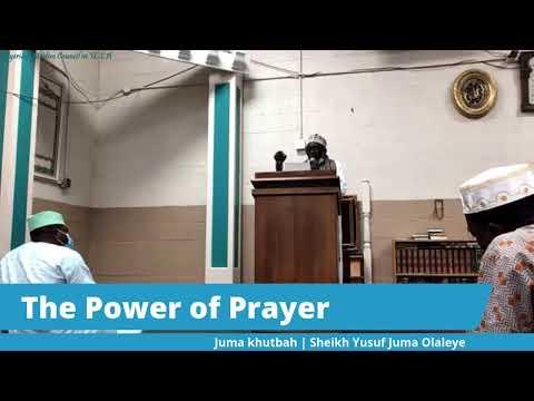 Jumah Khutbah | Sheikh Yusuf Juma Olaleye