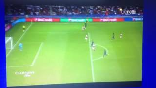 Paris SG -Arsenal.  1-1.  But/Goals and highlights