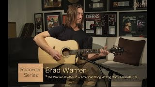 Recorder Dreadnought Acoustic Guitar Ft. The Warren Brothers | Luna Guitars