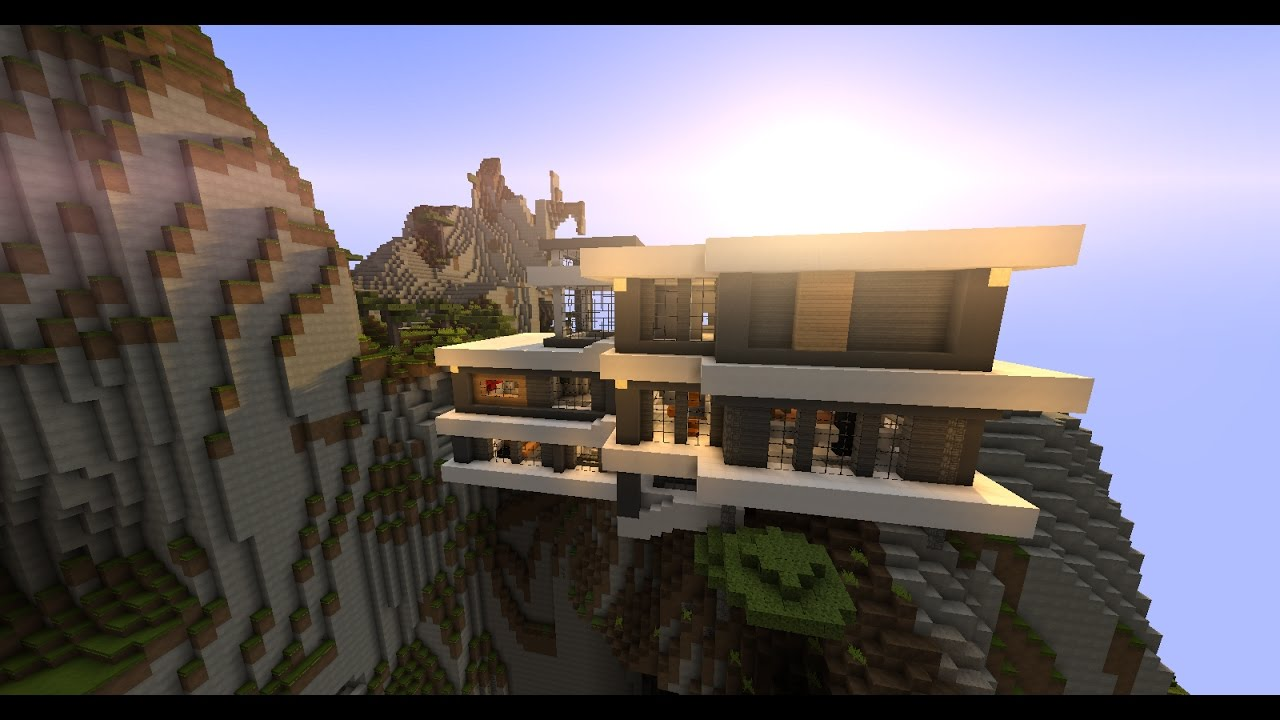 La plus belle maison minecraft au monde youtube - Plan belle maison ...
