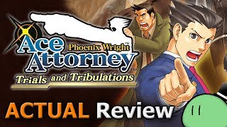 Phoenix Wright: Ace Attorney - Trials and Tribulations (ACTUAL Game Review) [DS]