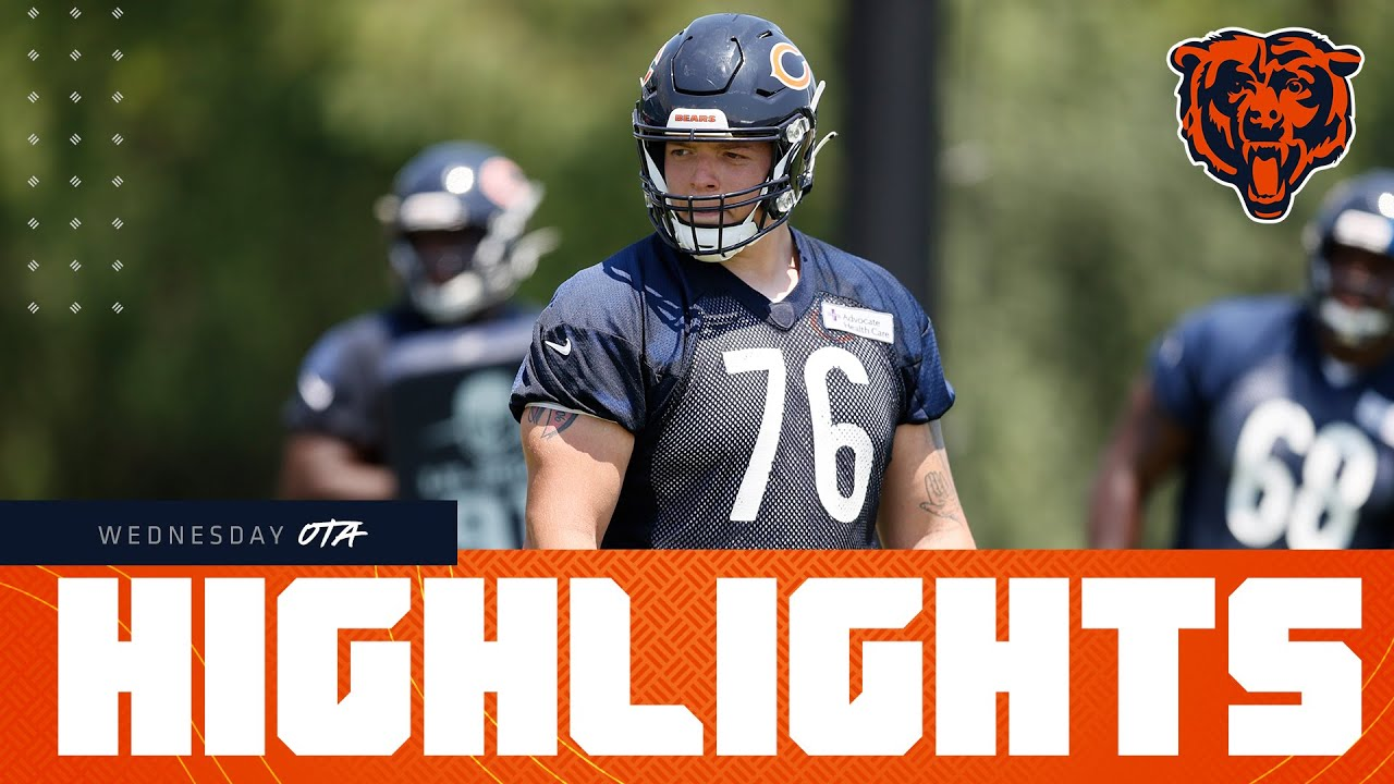 Highlights: Rookies and veterans take the field for OTAs