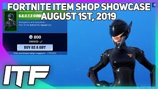 Fortnite Item Shop *NEW* B.R.U.T.E SQUAD SKINS! [August 1st, 2019] (Fortnite Battle Royale)