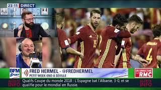 After foot du vendredi 06/10 – partie 4/6 - retour sur les qualifs de la coupe du monde 2018