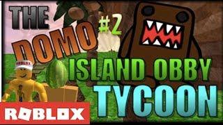 Roblox - Domo Island Obby Tycoon W / DIYDamian Pt. 2