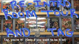 Room Tour, Comic Books, & Silver-Aged Dave Re-Introduction Tag