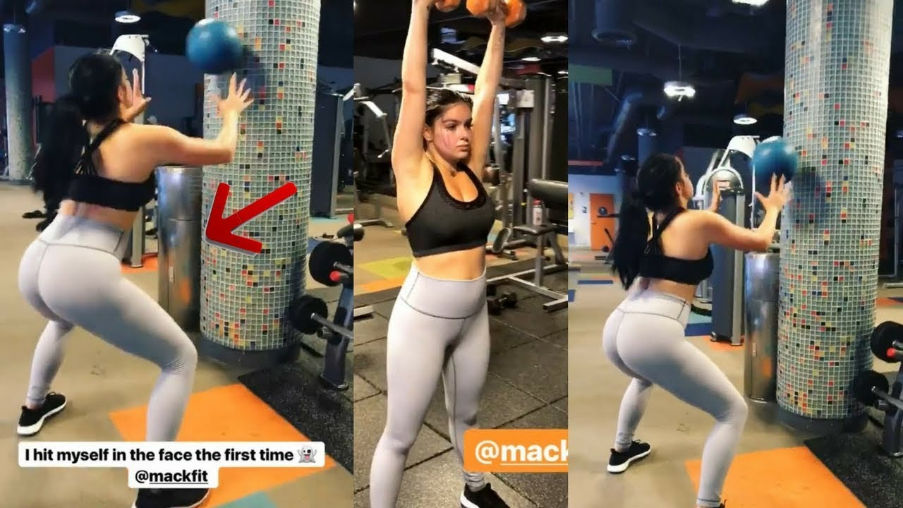 Ariel winter working out at a gym in los angeles 72118 7