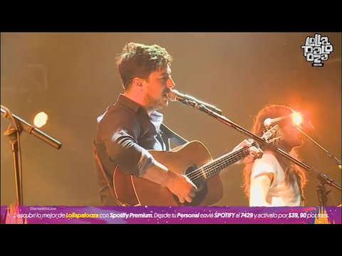 Mumford and Sons - Lollapalooza Argentina 2016