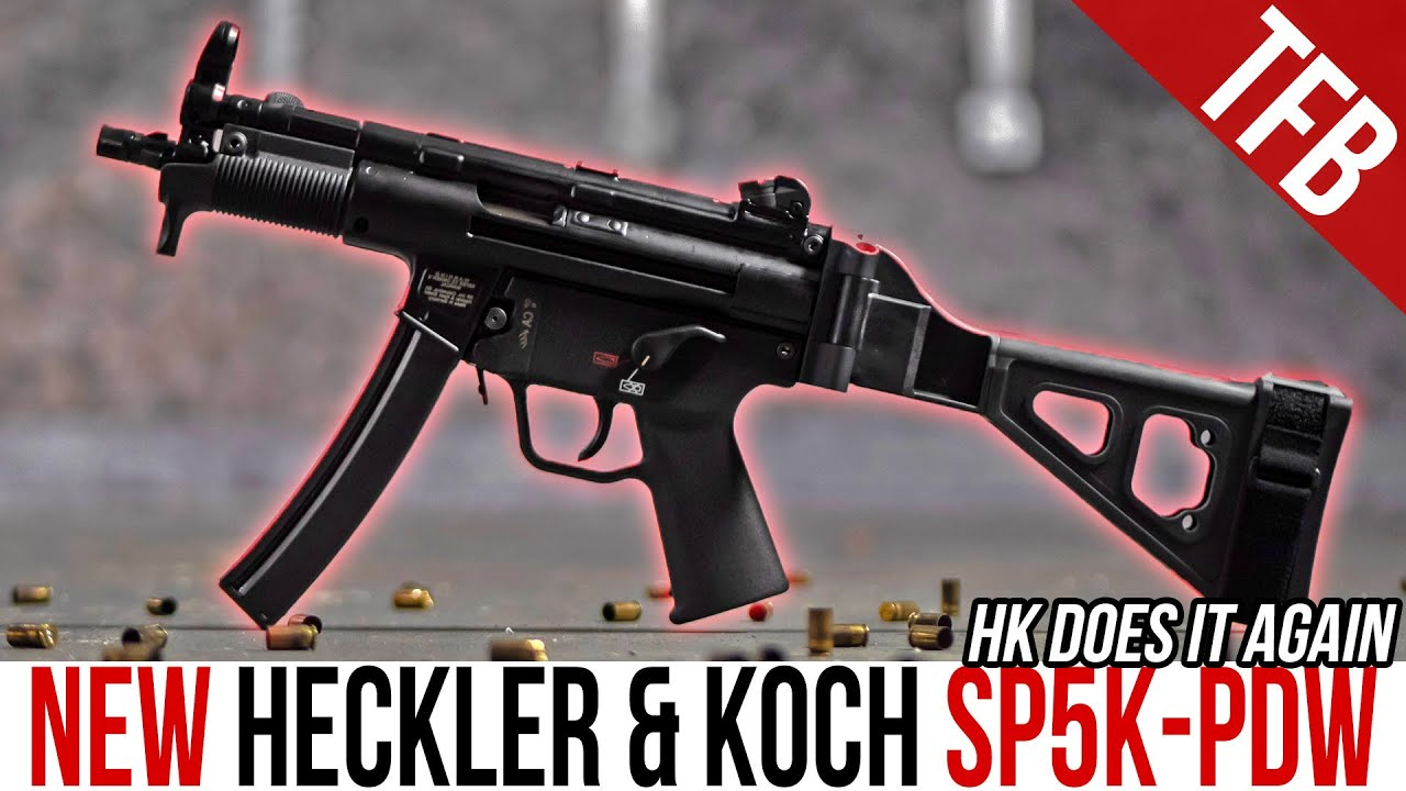NEW H&K SP5K-PDW: Best Civilian MP5 Ever?