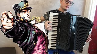 JoJo's Bizarre Adventure OP3 - Stand Proud | Accordion Cover