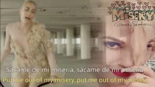 Gwen Stefani - Misery - (Subtitulos en Español + Lyrics)