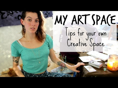 My Art Space [[Tips for your own Creative Space]]