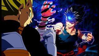 Vegeta Teaches Hiei A Lesson In Dragon Ball Hakusho (Dragon Ball X Yu Yu Hakusho & Hunter X Hunter)