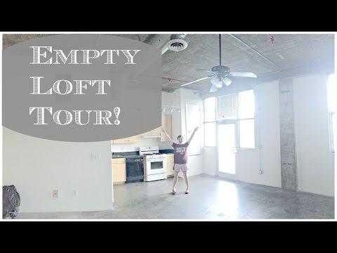 EMPTY Apartment Tour| Our Studio Loft