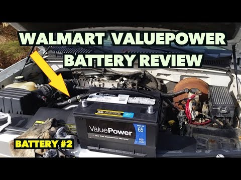 $49.99 Walmart ValuePower Battery Review....1 Year Later....2nd Battery.
